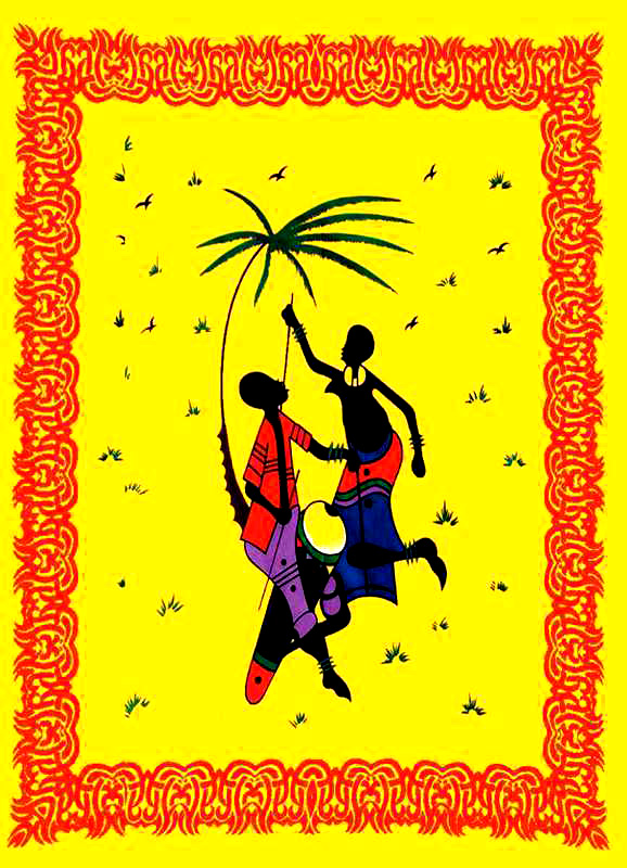 Tenture Africaine Djumbé