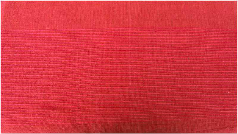 Kerala bedsheet red