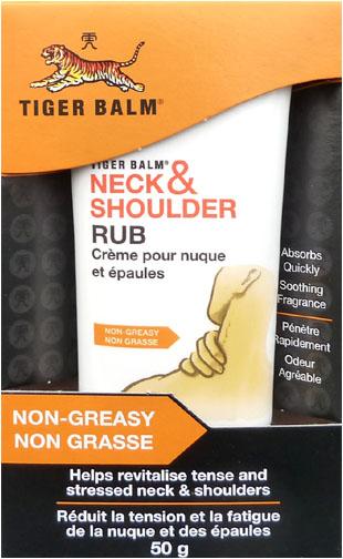 Crème baume du tigre pour nuque & épaules