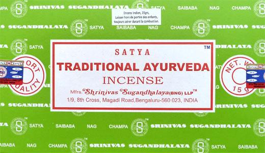 Encens satya tradizionale ayurveda 15g