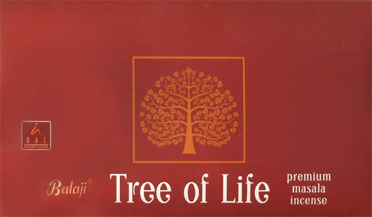 Balaji premium masala tree of life incense 15g
