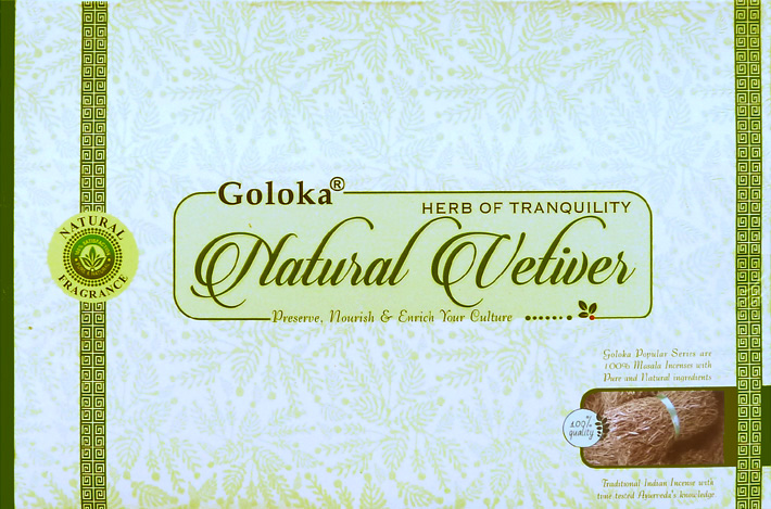 Encens Goloka Vetiver naturel 15g