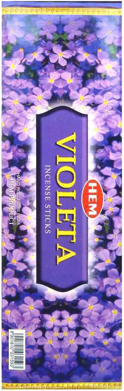Encens Hem Violette Hexa 20g
