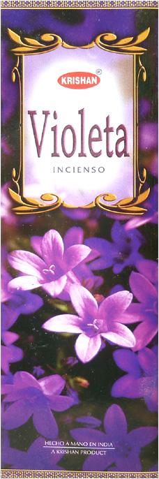 Encens krishan violette 8 Bts